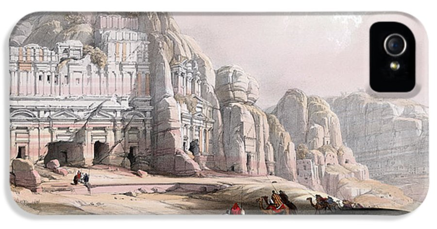 Petra IPhone 5 Case featuring the photograph Petra by Munir Alawi