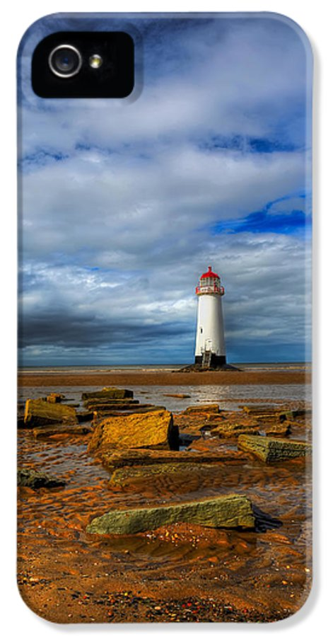 Beach IPhone 5 Case featuring the photograph Point Of Ayr Beach by Adrian Evans