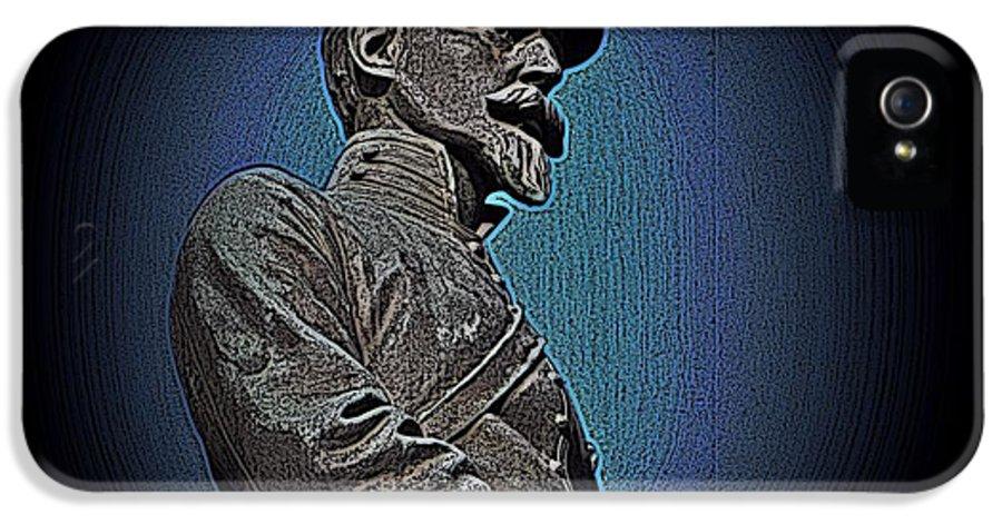 Civil War IPhone 5 Case featuring the photograph Portrait 29 American Civil War by David Dehner