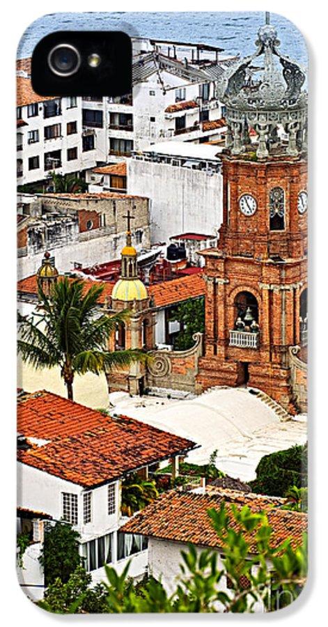 Puerto Vallarta IPhone 5 Case featuring the photograph Puerto Vallarta by Elena Elisseeva