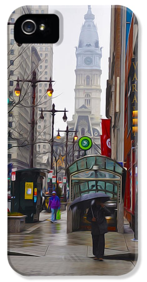Rainy Days And Sundays IPhone 5 Case featuring the photograph Rainy Days And Sundays by Bill Cannon