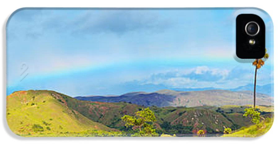 Panorama IPhone 5 / 5s Case featuring the photograph Rinca Panorama by MotHaiBaPhoto Prints