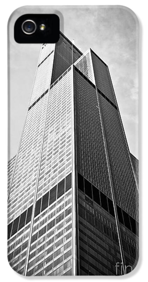 America IPhone 5 Case featuring the photograph Sears-willis Tower Chicago by Paul Velgos
