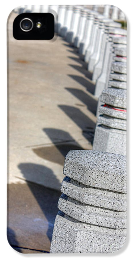 Soldier Field IPhone 5 Case featuring the photograph Shadow Dominoes by David Bearden
