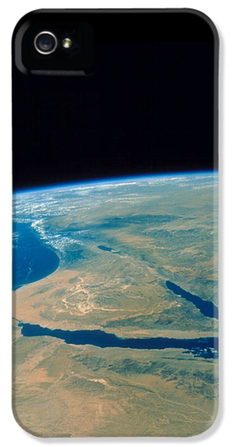 Shuttle Imagery IPhone 5 Case featuring the photograph Shuttle Photograph Of The Middle East by Nasa