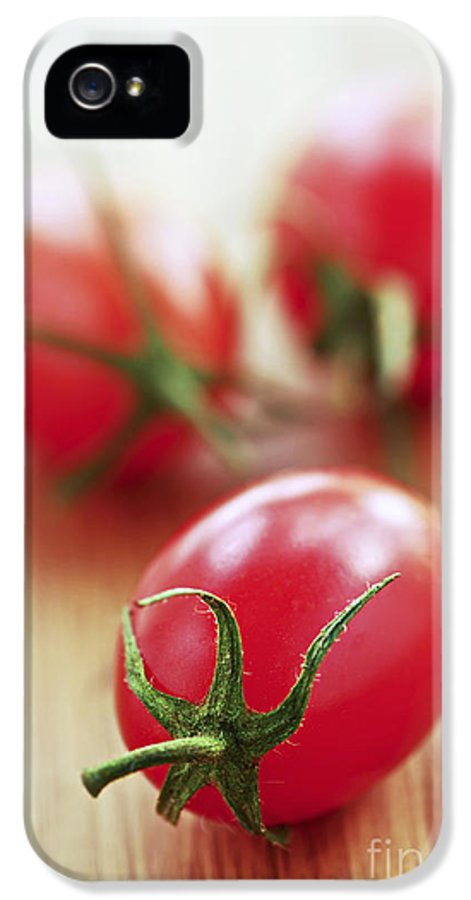 Tomato IPhone 5 / 5s Case featuring the photograph Small Tomatoes by Elena Elisseeva