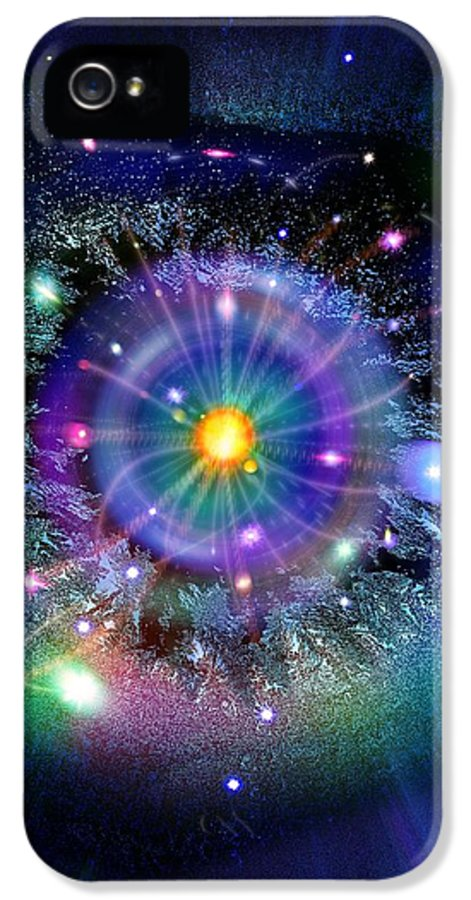 Gateway IPhone 5 Case featuring the photograph Space-time Gateway by Richard Kail