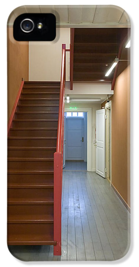 Architecture IPhone 5 Case featuring the photograph Staircase In Old Building by Jaak Nilson