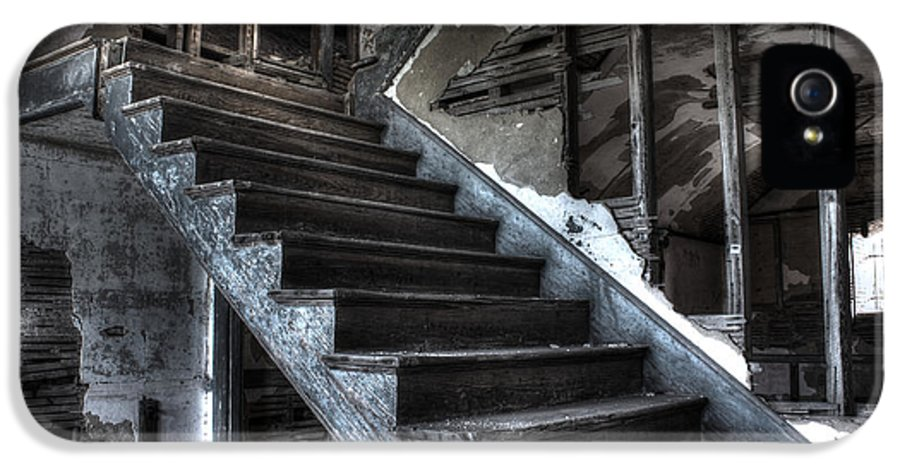 Apacheco IPhone 5 Case featuring the photograph Stairway To Ruin by Andrew Pacheco