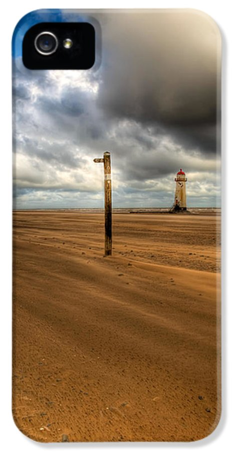 Hdr IPhone 5 Case featuring the photograph Storm Brewing by Adrian Evans