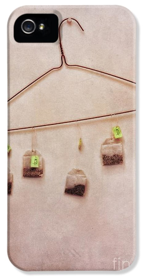 Tea IPhone 5 Case featuring the photograph Tea Bags by Priska Wettstein