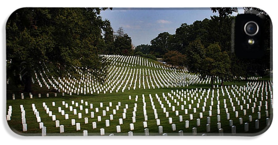 Arlington National Cemetery IPhone 5 Case featuring the photograph The Cost by Greg and Chrystal Mimbs