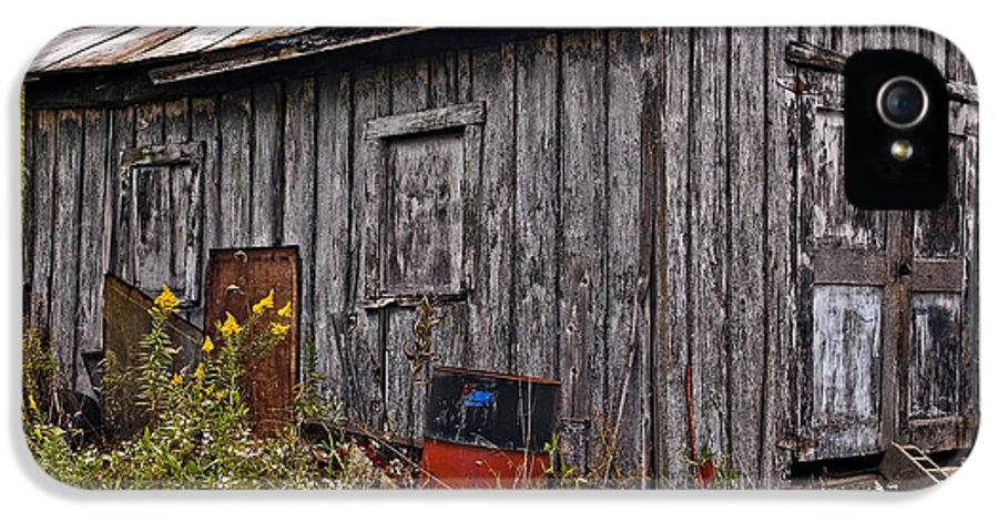 West Virginia IPhone 5 Case featuring the photograph The Shed by Steve Harrington