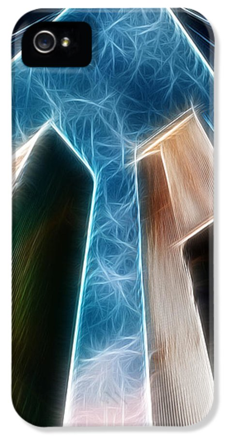 Twin Towers IPhone 5 Case featuring the photograph Twin Towers by Paul Ward
