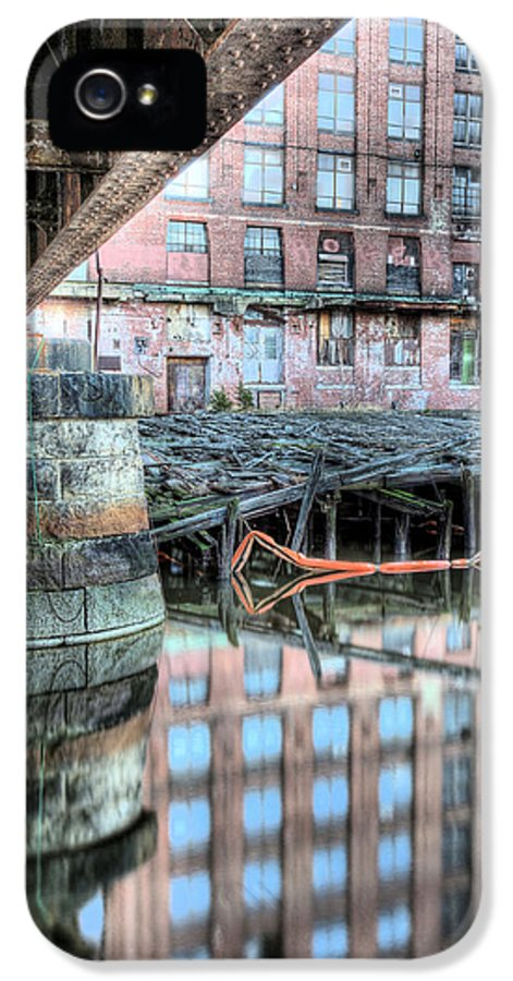 Charlestown Bridge IPhone 5 Case featuring the photograph Under The Bridge by JC Findley