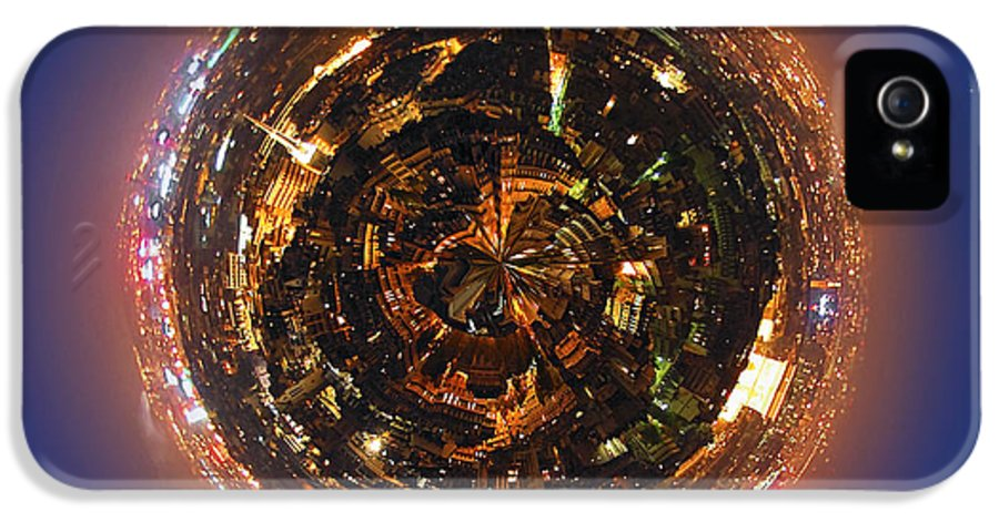 Urban IPhone 5 Case featuring the photograph Urban Planet by Elena Elisseeva