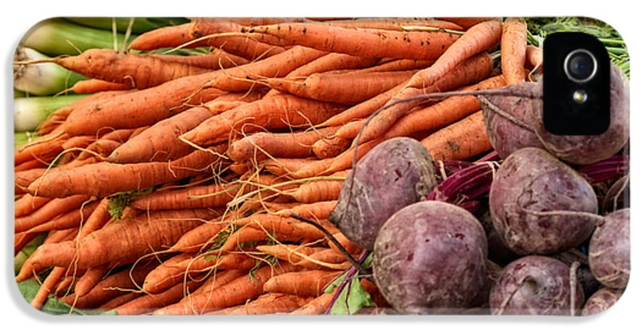 Agricultural IPhone 5 Case featuring the photograph Veggies At The Farmer's Market by Jarrod Erbe