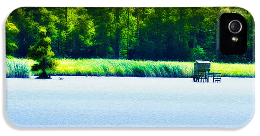 Virginia Tides IPhone 5 Case featuring the photograph Virginia Tides by Bill Cannon