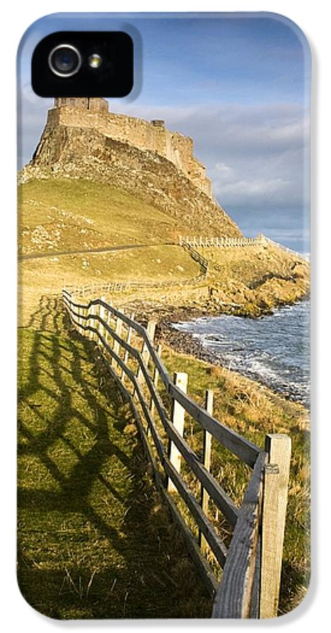 Beauty In Nature IPhone 5 Case featuring the photograph Volcanic Mound Called Beblowe Craig by John Short