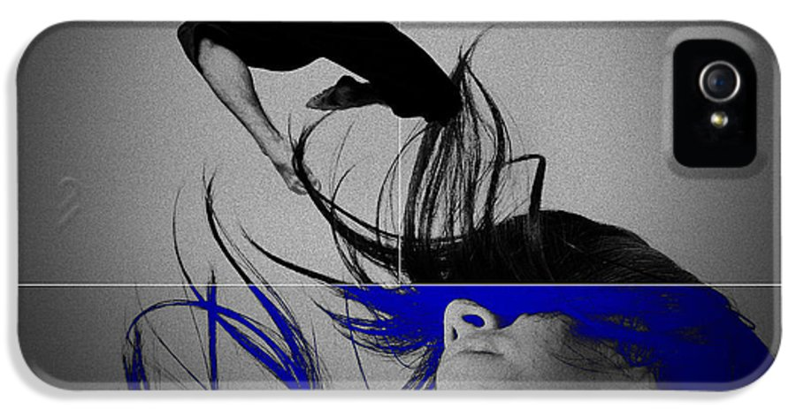 Lovers IPhone 5 Case featuring the digital art Voyage by Naxart Studio