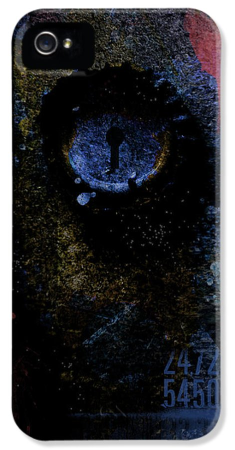Abstract IPhone 5 Case featuring the photograph What We See Is Only What We Are by Ron Jones