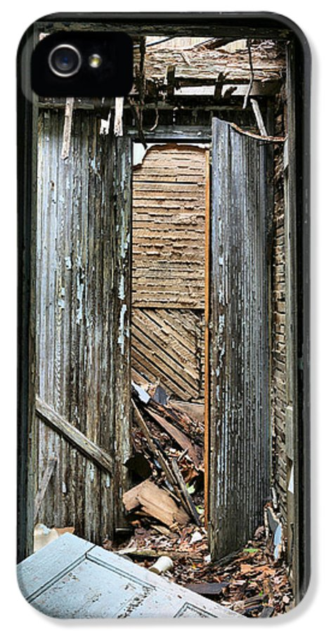 When One Door Closes IPhone 5 Case featuring the photograph When One Door Closes by JC Findley