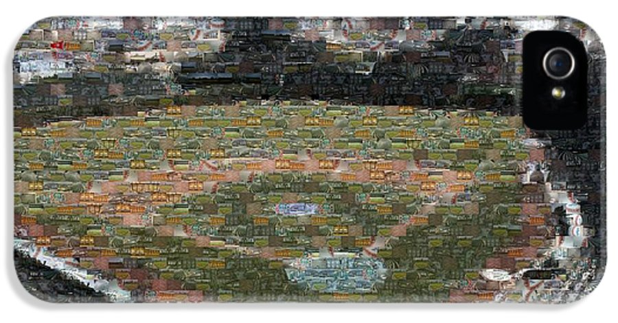 Wrigley IPhone 5 Case featuring the photograph Wrigley Mosaic by David Bearden