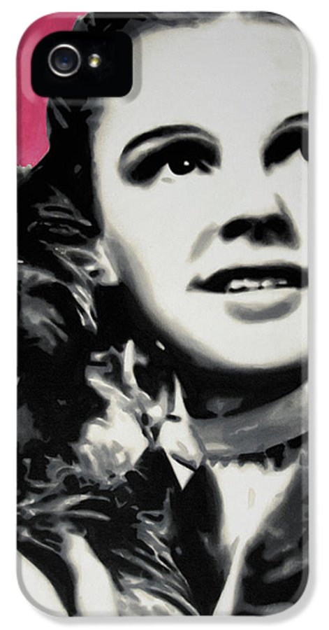 Ludzska. Dorothy IPhone 5 Case featuring the painting - Dorothy - by Luis Ludzska