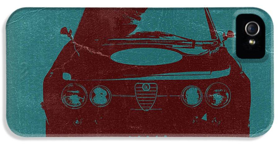 Alfa Romeo Gtv IPhone 5 Case featuring the photograph Alfa Romeo Gtv by Naxart Studio