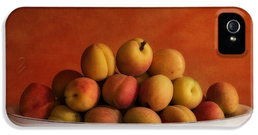 Apricot IPhone 5 Case featuring the photograph Apricot Delight by Priska Wettstein