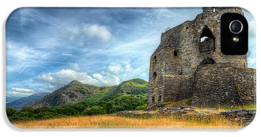 Castle IPhone 5 Case featuring the photograph Dolbadarn Castle by Adrian Evans