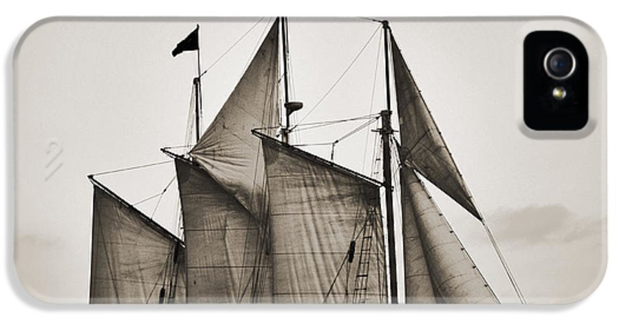 Tall Ship IPhone 5 / 5s Case featuring the photograph Schooner Pride Tall Ship Charleston Sc by Dustin K Ryan