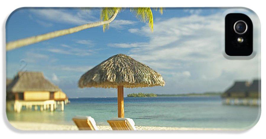Beach IPhone 5 Case featuring the photograph Tahiti, Bora Bora by Kyle Rothenborg - Printscapes