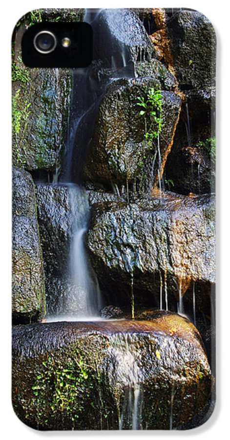 Asian IPhone 5 Case featuring the photograph Waterfall by Carlos Caetano