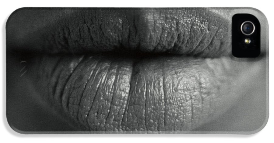 Lips IPhone 5 Case featuring the photograph Woman's Lips by Cristina Pedrazzini