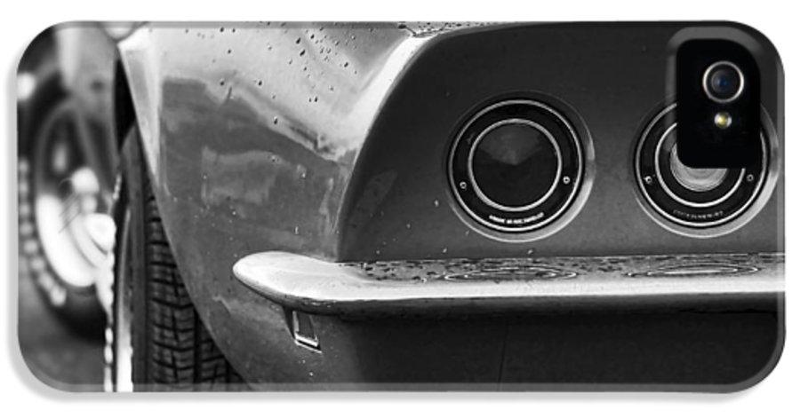 1969 IPhone 5 Case featuring the photograph 1969 Chevrolet Corvette Stingray by Gordon Dean II