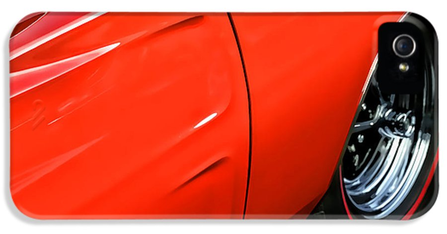 Hemi IPhone 5 Case featuring the photograph 1969 Dodge Charger Rt by Gordon Dean II
