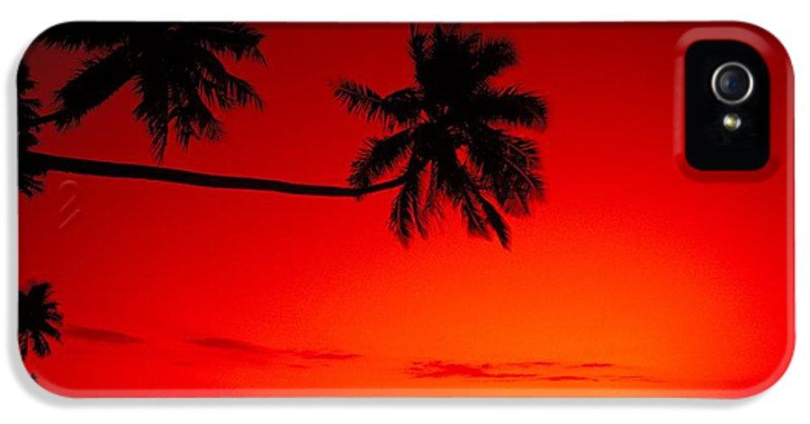 Beautiful IPhone 5 Case featuring the photograph Fiji, Kadavu Island by Ron Dahlquist - Printscapes
