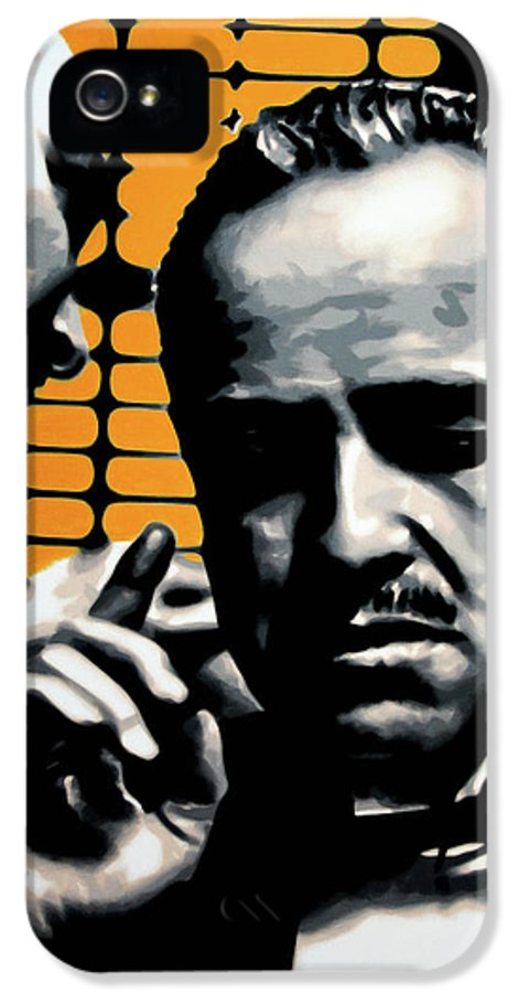 Ludzska IPhone 5 Case featuring the painting I Want You To Kill Him by Luis Ludzska