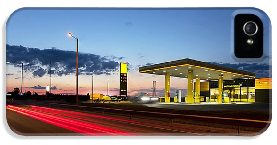 Business IPhone 5 Case featuring the photograph Estonian Gas Station by Jaak Nilson