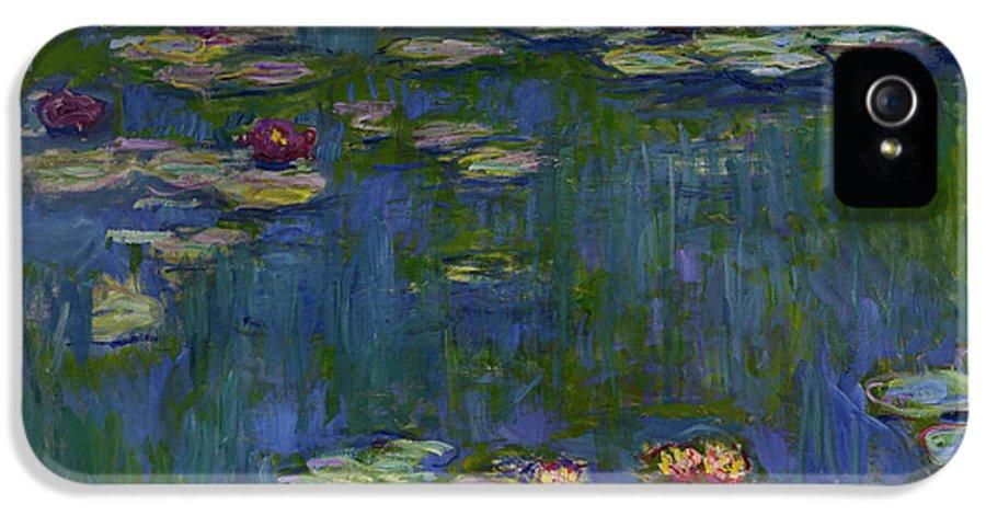 super popular 5e091 cc0fa Water Lilies, 1916 IPhone 5 Case