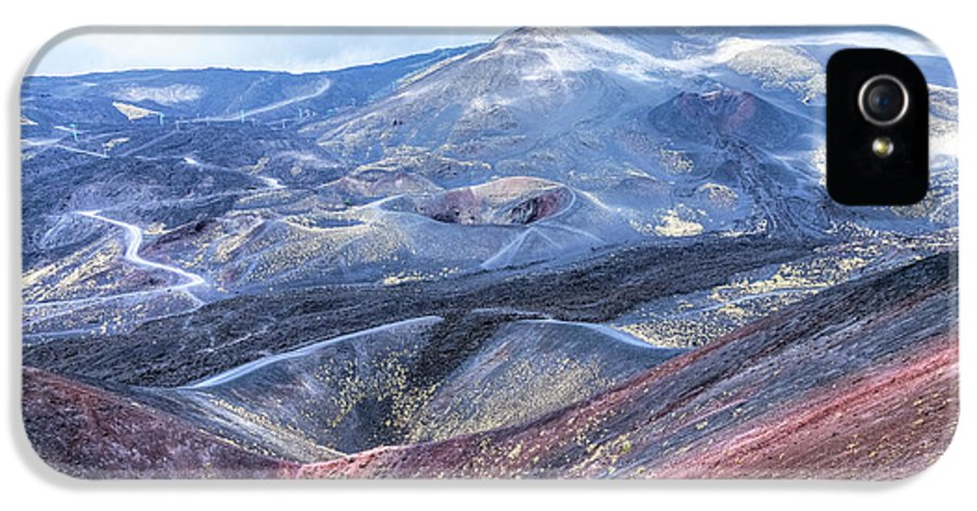 Mount Etna IPhone 5 Case featuring the photograph Etna - Sicily by Joana Kruse