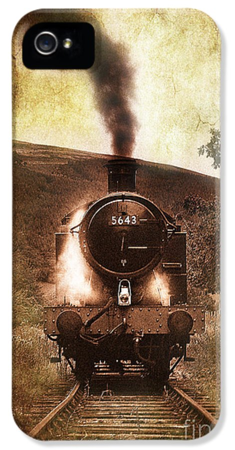 Train IPhone 5 Case featuring the photograph A Bygone Era by Meirion Matthias