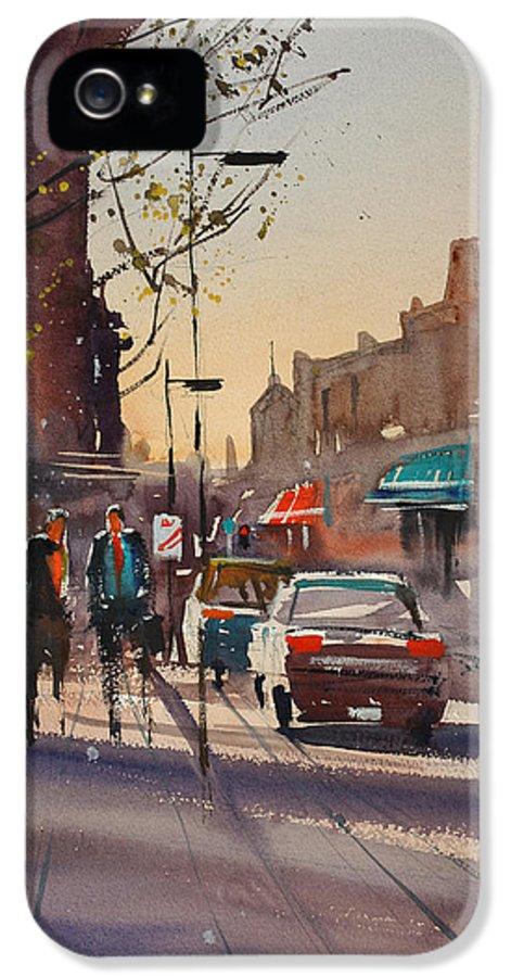 Ryan Radke IPhone 5 Case featuring the painting Afternoon Light by Ryan Radke