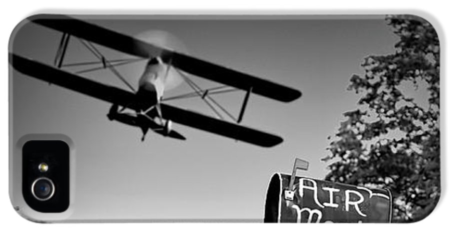 Landscape IPhone 5 Case featuring the photograph Air Mail Delivery Maine Style by Bob Orsillo