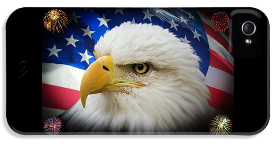 4th Of July IPhone 5 Case featuring the photograph American Pride by Shane Bechler