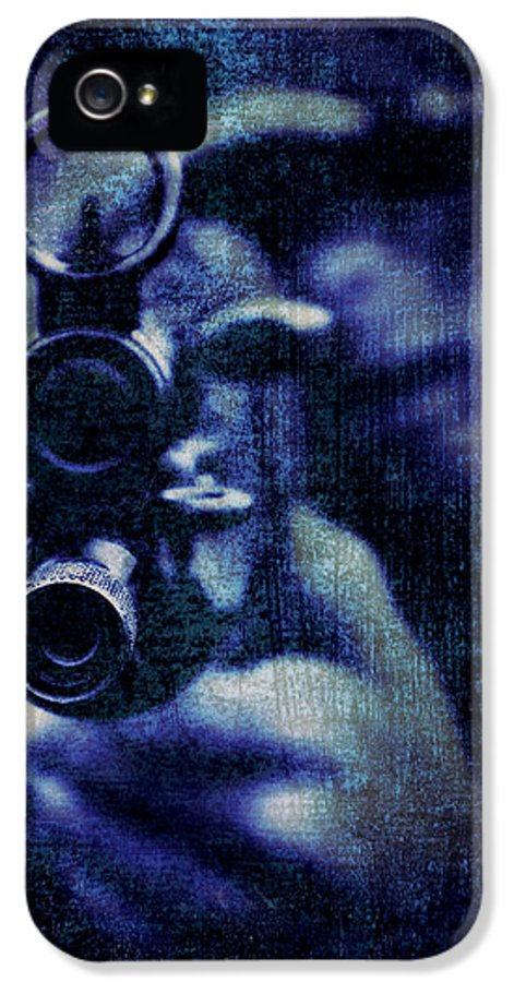 Texture IPhone 5 Case featuring the photograph An Unknown Warrior by Meirion Matthias