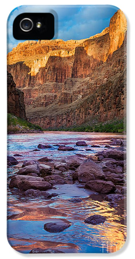 America IPhone 5 Case featuring the photograph Ancient Shore by Inge Johnsson