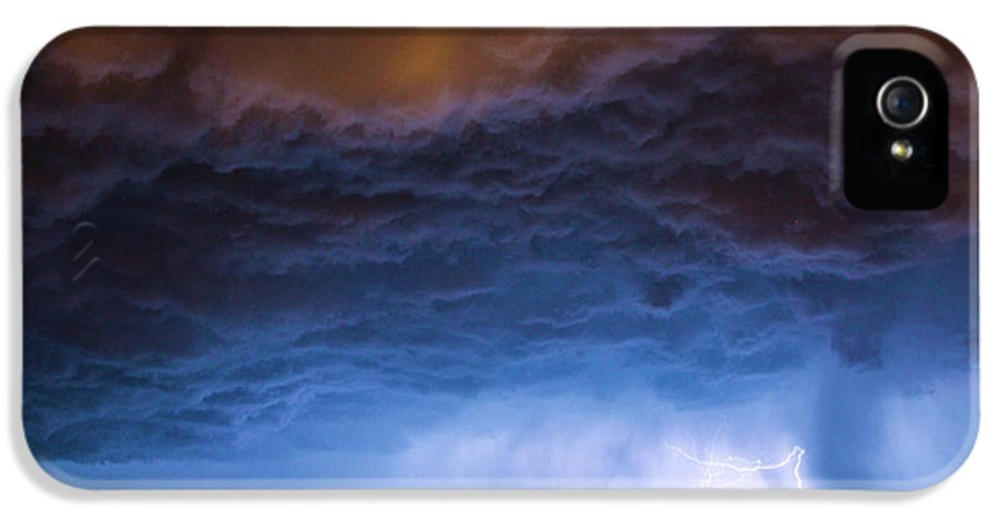 Nebraskasc IPhone 5 Case featuring the photograph Another Impressive Nebraska Night Thunderstorm 008/ by NebraskaSC