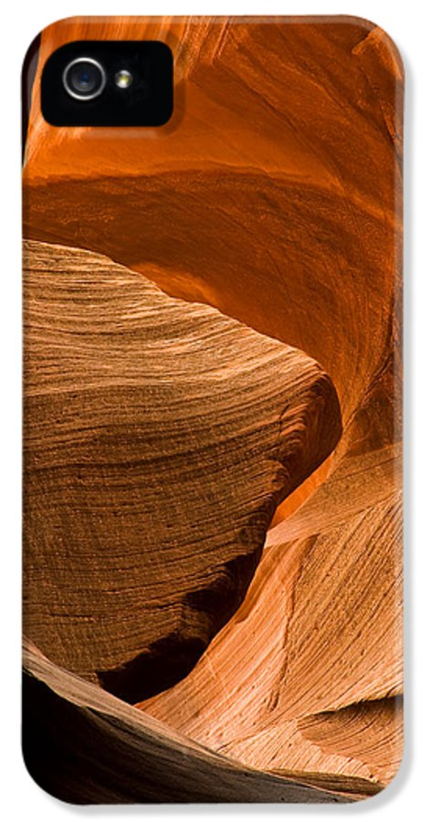 3scape Photos IPhone 5 Case featuring the photograph Antelope Canyon No 3 by Adam Romanowicz
